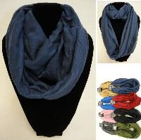 Extra-Wide Light Weight Infinity Scarf [Solid Colors]